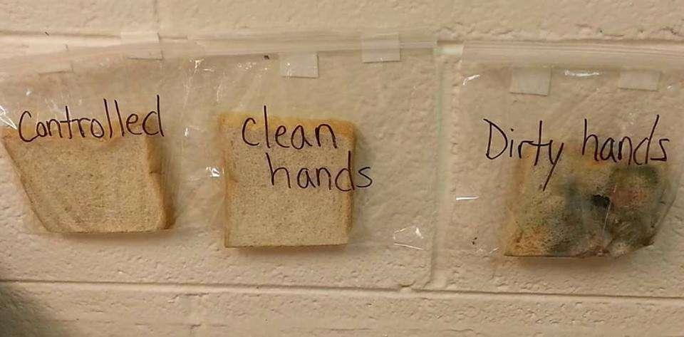 Myj ręce.